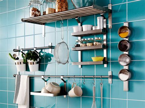 Kitchen Wall Storage | 9 ideas to keep your new kitchen functional and organized