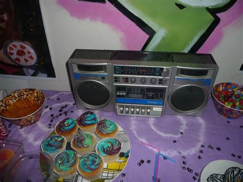 90s hip hop party decorations cupcakes i made for a 90s hip hop themed party 90s