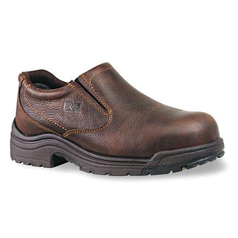timberland slip on work boots timberland pro titan nonslip alloy toe oxford work shoe 53534