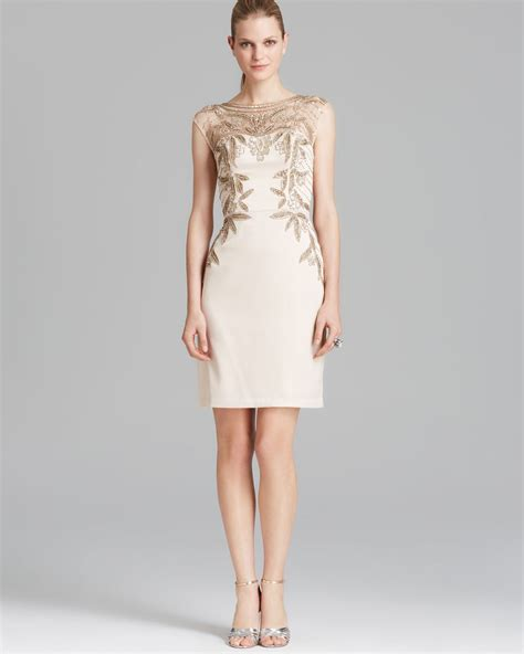 cap sleeve beaded illusion gown lyst sue wong dress cap sleeve illusion neckline beaded
