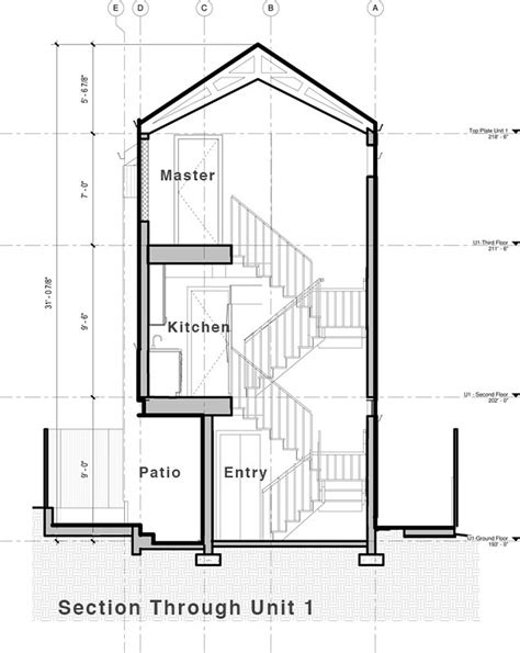 most practical house plans house plans contemporary and practical urban duplex unit in seattle