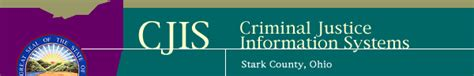 Stark County Clerk Of Courts Records Cjis Criminal Justice Information Systems