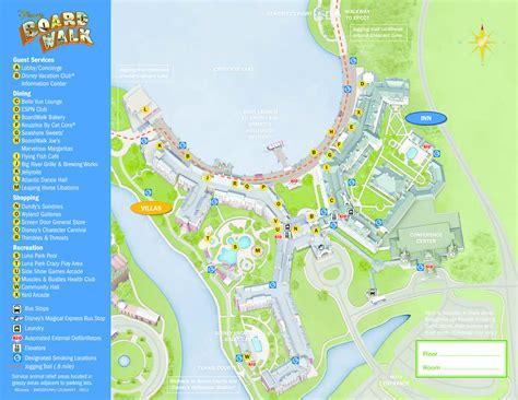 caribbean resort map pdf walt disney world maps wdw planning