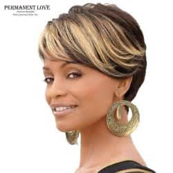 pictures of highlights on hair n american ombre short wigs for black women black rooted side bangs
