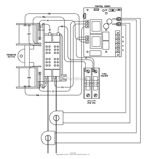 diagram on how to wire a transfer switch for generator