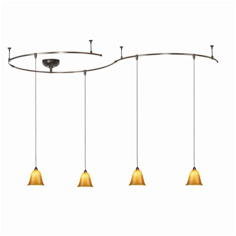 Track Pendant Lights Track Lighting With Pendants Homesfeed