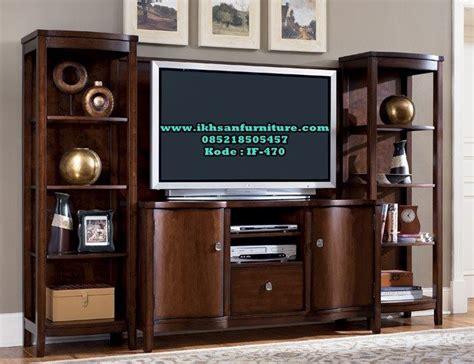 Monitor Flat Murah jual bufet tv kayu jati murah model bufet tv kayu jati