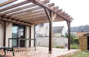 pergolas bois atelier des terrasses finist 232 re et morbihan