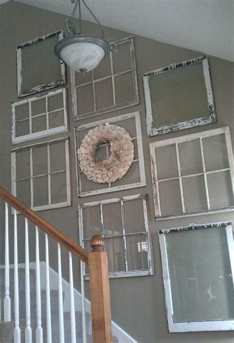 Window Pane Wall Decor by Top 38 Best Ways To Repurpose And Reuse Windows