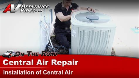 How Can I Patch A In An Air Mattress by Central Air Conditioner Repair Installing A Central Air