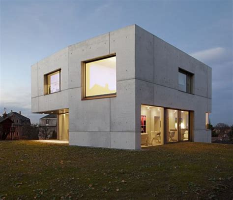 Cement Homes Plans | concrete home designs minimalist in germany modern