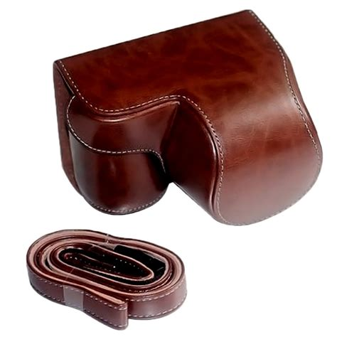 Leather A6000 leather bag for sony alpha a6000 a6300