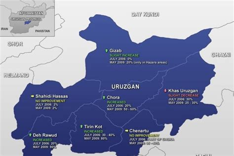 australia province map areas of government in uruzgan province abc news