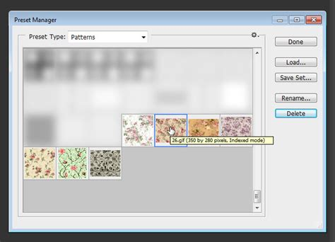 photoshop quick pattern extract images from pattern files textuts