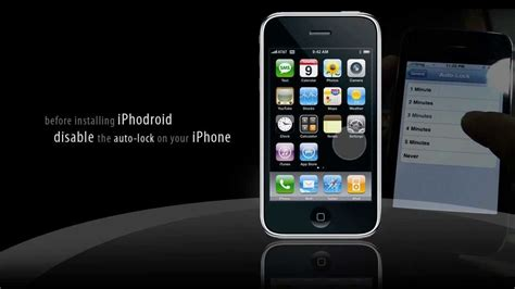 install android on iphone installing android os into iphone 3g