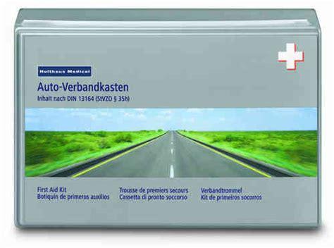 Auto Verbandskasten Norm by Kfz Verbandk 228 Sten Din 13164 Neue Norm Auf Rechnung