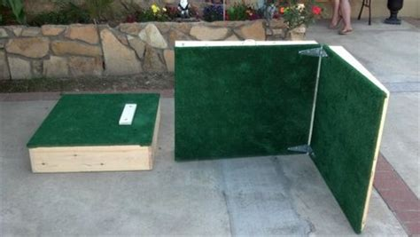 portable pitching mound by scvwood27 lumberjocks