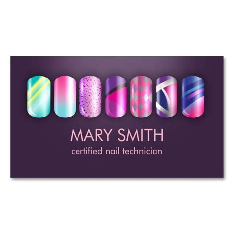 business card template for nail technicians 1938 best images about nail technician business cards on