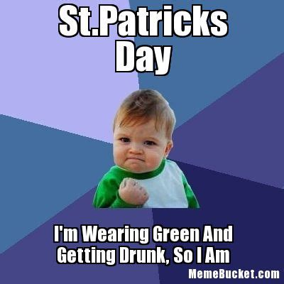 St Patrick S Meme - st patricks day create your own meme