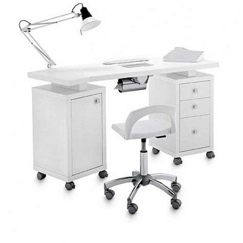 manicure desk with light manicures salon furniture and swing arm ls on