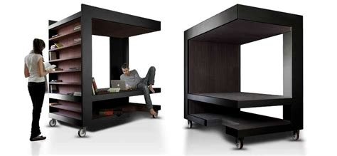 Bunk And Desk Luoto Is Multi Functional Furniture For Storage Working