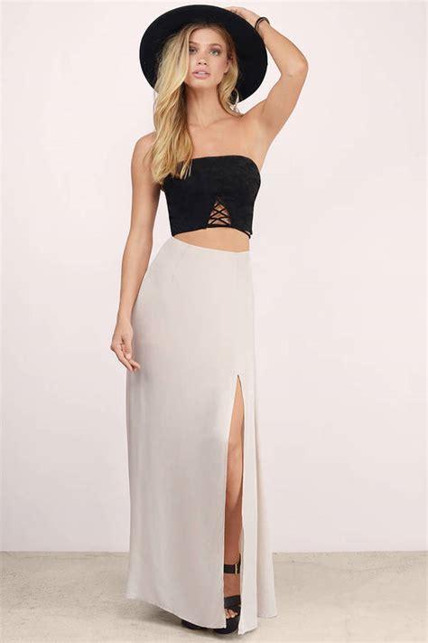 black skirt black skirt slit skirt 24 00