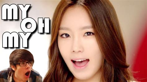 my my snsd quot my oh my quot mv reaction
