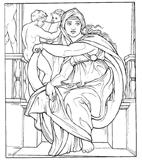 Miguel Angel On Pinterest Michelangelo David And San Miguel Michelangelo Coloring Pages