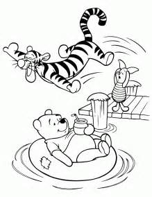 pooh coloring pages 7 walt disney winnie the pooh and friends coloring pages