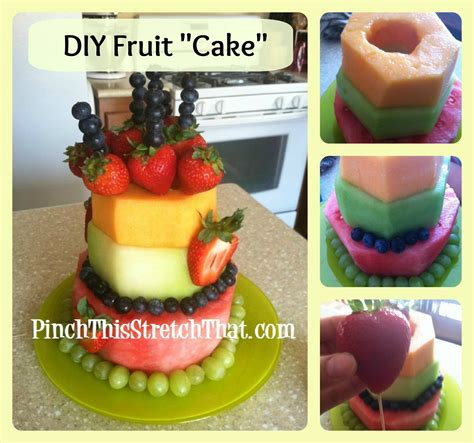 How To Make A Birthday Cake Out Of Paper - a healthier cake birthday fruit quot cake quot