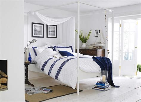 nautical bedroom decor shipshape interiors this season s look is all about soothing colours whitewashed wood and a