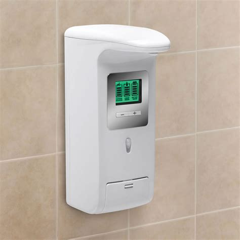 Shower Dispenser Wall Mounted hands free wall mounted shower dispenser the green head