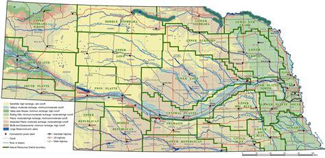 map us nebraska nebraska map and nebraska satellite images