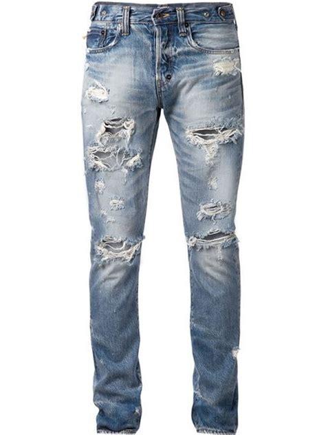 mens light blue jeans ripped ripped jeans for men ye jean
