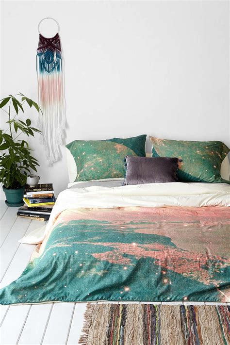wonderful Dorm Room Bedding Ideas #1: Dreamy-bedding-from-Urban-Outfitters.jpg