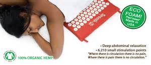 spoonk accupressure mat eco usa made 6210