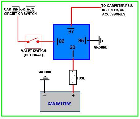 car relay diagram wiring diagrams schematics