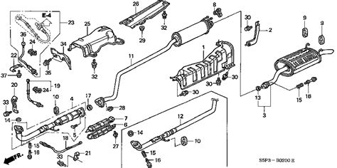 2000 honda civic exhaust diagram honda civic exhaust diagram honda free engine image for