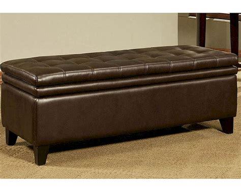 double storage ottoman abbyson easton double cushion storage ottoman ab 55ci