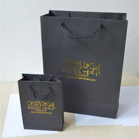 Card Gift Bags - 200pcs lot 40 30 12cm gift black card paper bag for shopping wedding gift bags gold