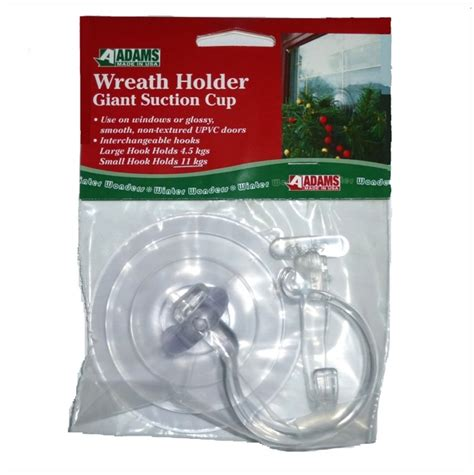 wreath hanger for a upvc door suction cups direct