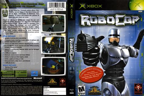 robocop mod game download robocop cover download microsoft xbox covers the iso zone