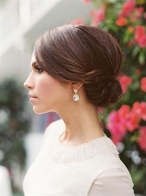Sleek Hairstyles by This Sleek Wedding Hairstyle Creative Wedding