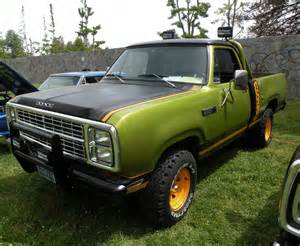 just a car restored 1970 s dodge trucks were at the