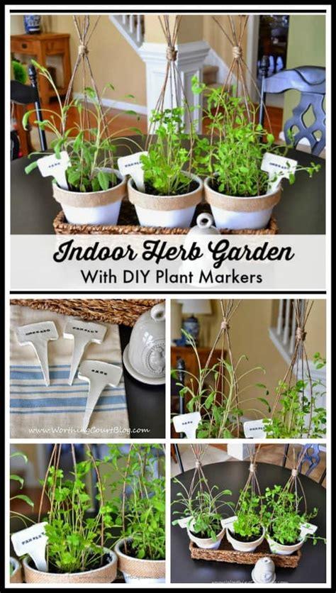 diy indoor herb garden ideas worthing court