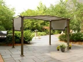 Garden Oasis Pergola With Canopy by New Garden Oasis Pergola Gazebo Awning Ebay
