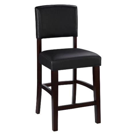 Linon Monaco Bar Stool by Monaco 24 Quot Counter Stool Hardwood Brown Linon Target