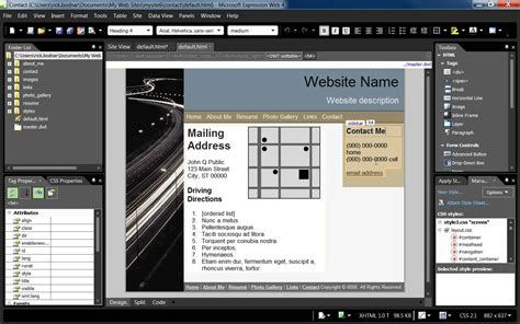 Using Dynamic Web Templates In Expression Web 4 Youtube Microsoft Expressions Templates