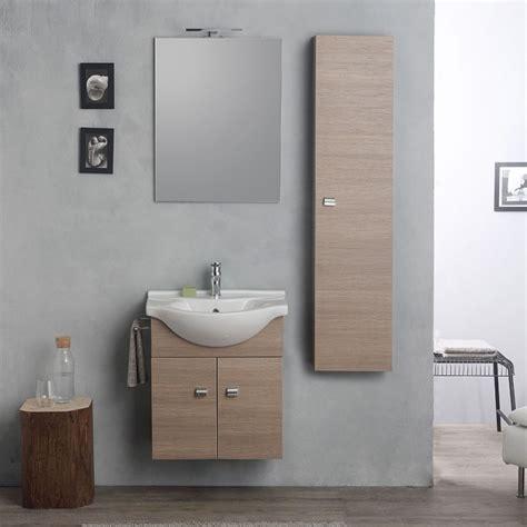 arredo bagno conveniente mobile in rovere da bagno 58 cm salvaspazio conveniente