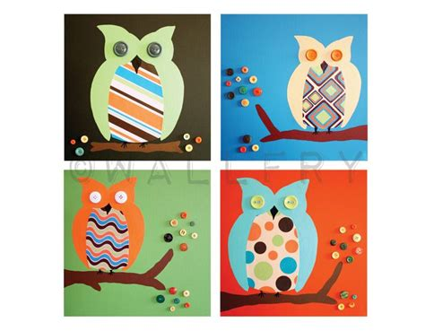 retro owl themed nursery decor the 12 best images about owls on crafts ropes